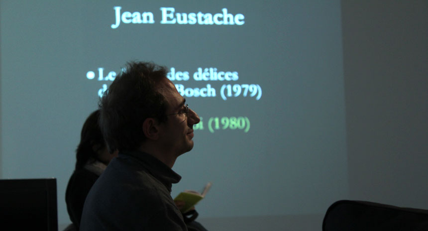 Alex Constanzo, talking about the Jean Eustache's film, Offre d'emploi